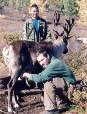 Brian Donahoe - came to Tuva to study Todzhans, as a result to fall in love and get married. In Todzha with the reindeer herders.