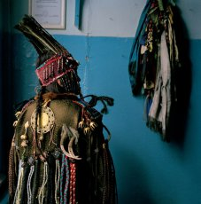 A Mystical Coat and Hat of a Tuvan Shaman