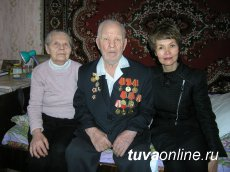 Tuva: Commander of legendary mine-thrower detail of Brothers Shumov celebrates his 99th birthday