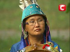 """Tuvan shamaness takes part in Ukraine TV project """"Psychics are investigating"""""""
