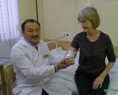 Unique doctor from Tuva in great demand in Moscow