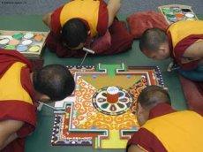 Tibetan lamas will construct a sand mandala in Tuva