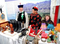 Tuvan delicacy - SOGAZHA  - introduced at the International Tourism Forum in Kyzyl