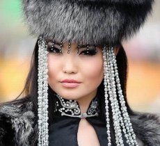 "A Buryat beauty won the crown of the International beauty contest ""Miss Asia Alma Mater - 2012"""