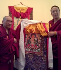 Official delegation from Drepung Gomang monastery arrived in Tuva with a large program