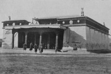 Destroyed in the Soviet time buddist temple reopened in Tuva
