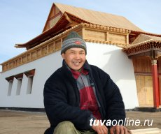 """Art project """"Along the Yenisei"""" is starting in Tuva at the source of Yenisei river"""
