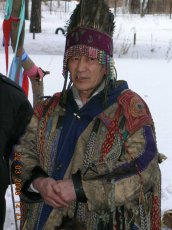 "Shaman from the ""Dungur"" association, Dugar-Syuryun Oorzhak conducted seminars in Austria"