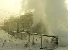 Heating System under Repair in Khov-Axy (Tuva)