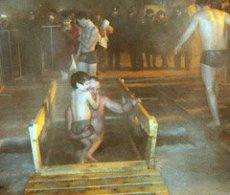 "Ice baths of ""Kreshchenie"" in Tuva started on the night of 19 January"