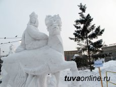 """Lady Guardian Spirit of the Taiga"" from Tuva catches the interest of the people of Novosibirsk"